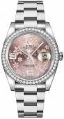 Rolex Datejust 36mm 116244 Pink Floral
