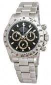 Rolex Cosmograph 40mm Steel 116520-Black