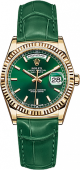 Rolex Day-Date 36 mm Green 118138