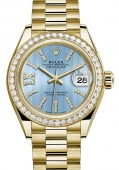 Rolex Datejust Lady 28 mm Yellow Gold 279178