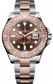 Rolex Yacht-Master 37 mm Steel and Everose Gold Chocolate 268621
