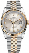 Rolex Datejust 36 mm Steel and Yellow Gold 116233