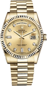 Rolex Day-Date 36mm Yellow Gold 118238-0116