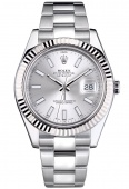 Rolex Datejust 41 mm Steel and White Gold 116334blio