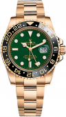 Rolex GMT-Master II 40mm Yellow Gold 116718LN-Green