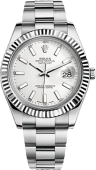 Rolex Datejust 41 mm Steel and White Gold 116334