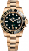Rolex GMT-Master II 40mm Yellow Gold 116718LN-Black