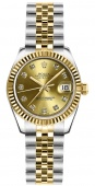 Rolex Datejust 26mm Steel and Yellow Gold 179173