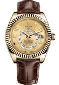Rolex Sky-Dweller 42 mm Yellow Gold 326138-0004
