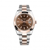 Rolex Datejust 41 mm Steel and Everose gold 126301