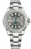 Rolex Yacht-Master 40 mm Steel and Platinum Dark Rhodium 116622-0003