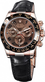 Rolex Daytona Cosmograph 40mm Everose Gold 116515 Chocolate Brown