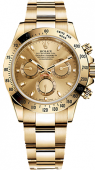 Rolex Daytona Cosmograph 40mm Yellow Gold 116528 champagne