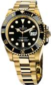 Rolex Submariner 40mm Yellow Gold Ceramic 116618LN
