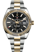 Rolex Sky-Dweller 42 mm Steel and Yellow Gold 326933-0002