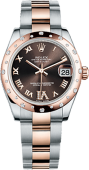Rolex Datejust 31mm Steel and Everose Gold 178341