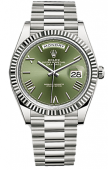 Rolex Day-Date 40 mm White Gold 228239-0033