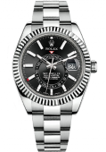 Rolex Sky-Dweller 42 mm Steel and White Gold 326934-0005