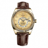 Rolex Sky-Dweller 42mm Yellow Gold 326138