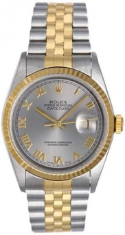 Rolex Datejust 36 mm Steel and Yellow Gold 16233