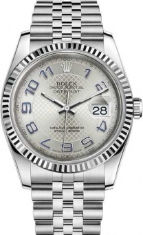Rolex Datejust 36 mm 116234 steel and white gold