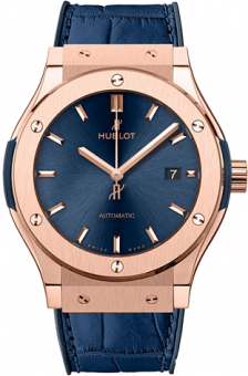 Hublot Classic Fusion Blue King Gold 511.OX.7180.LR