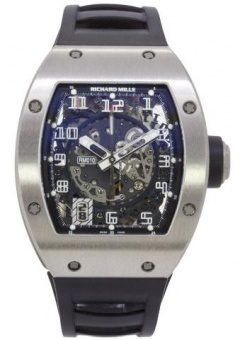 Richard Mille RM010 White Gold