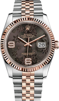 Rolex Datejust 36 mm Steel and Everose Gold 116231