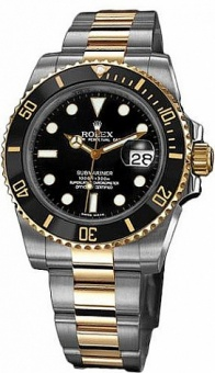 Rolex Submariner 40mm Steel and Yellow Gold Ceramic 116613LN