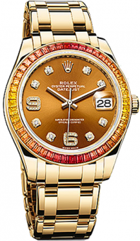 Rolex Datejust Special Edition 39 mm Pearlmaster 86348SAJOR