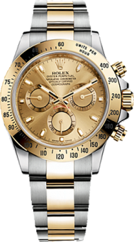 Rolex Daytona Cosmograph 40mm Steel and Yellow Gold 116523