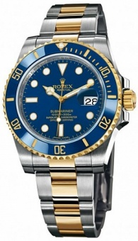 Rolex Submariner 40mm Steel and Yellow Gold Ceramic 116613LB