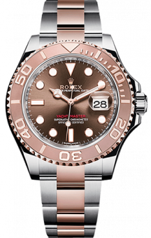 Rolex Yacht-Master 40 mm Steel and Everose Gold Chocolate 116621-0001