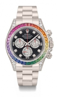 Rolex Daytona Cosmograph White Gold RainBow FIXING