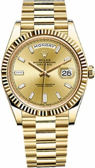 Rolex Day-Date 40 mm Yellow Gold 228238 bd