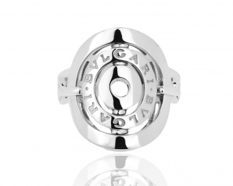 Кольцо BVLGARI  white gold