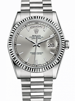 Rolex Day-Date 36 mm White Gold 118239-0088