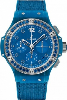Hublot Big Bang  Linen Ocean Blue 341.XL.2770.NR.1201