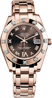 Rolex Datejust Special Edition 34 mm Everose Gold 81315