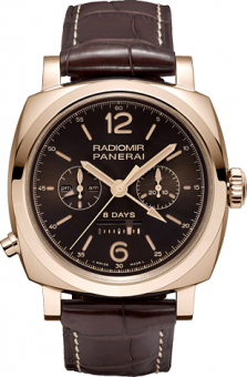 PANERAI LIMITED CHRONO MONOPULSANTE 8 DAYS GMT PAM 00502
