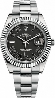 Rolex Datejust 41 mm Steel and WG 116334