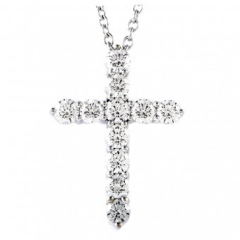 Graff  cross 1.01 ct.