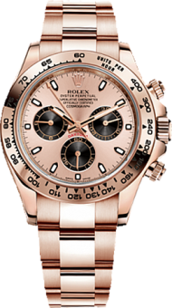 Rolex Daytona Cosmograph 40mm Everose Gold 116505 Pink
