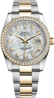 Rolex Datejust Steel and Yellow Gold 116243-0027