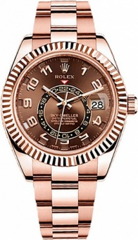 Rolex Sky-Dweller 42mm Everose Gold 326935