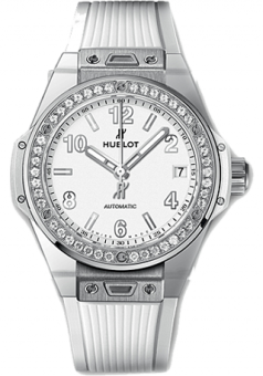 Hublot Big Bang Steel White Diamonds 465.SE.2010.RW.1204