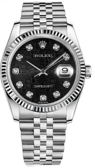 Rolex Datejust 36 mm 116234 black