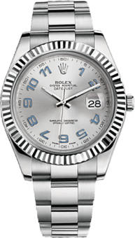 Rolex Datejust 41 mm Steel and White Gold 116334-0001