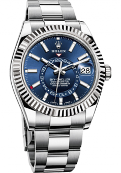 Rolex Sky-Dweller 42 mm Steel and White Gold 326934-0003